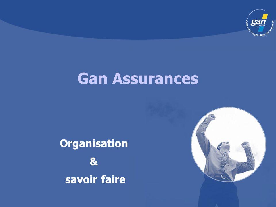 Gan Assurances Organisation & savoir faire