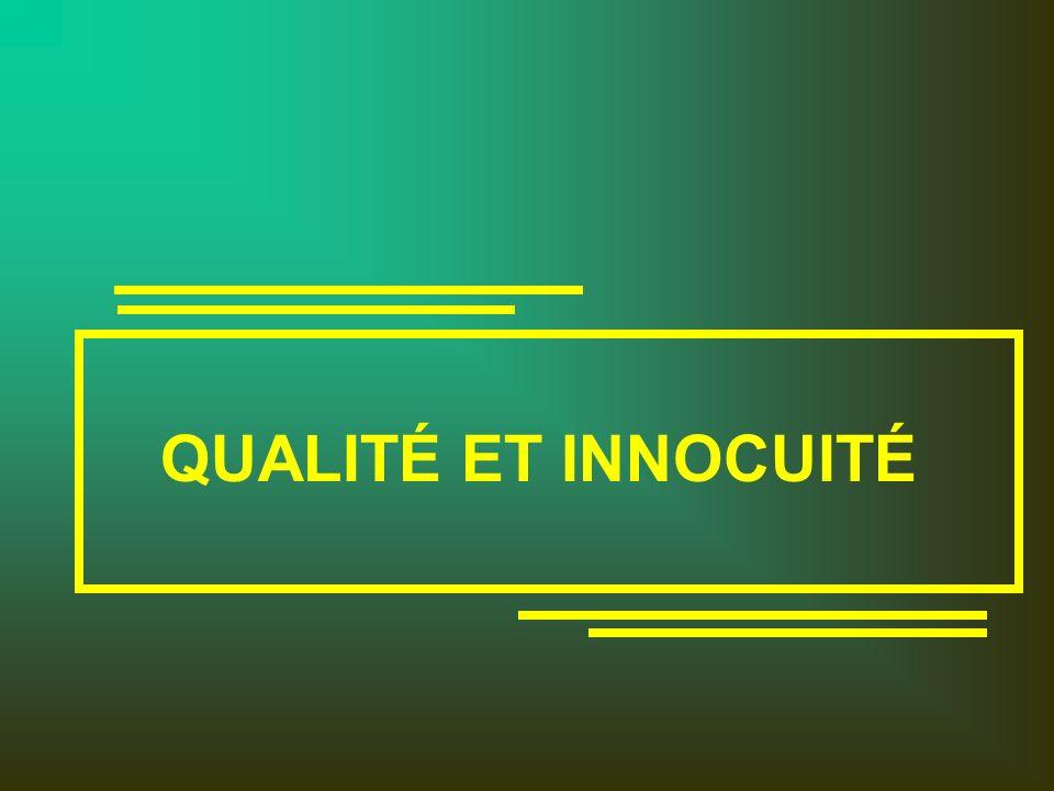 Normes sectorielles (Assurance de la qualité/HACCP) (MAPAQ - BNQ) Formation HACCP Implantation Établissements agroalimentaires Système de surveillance MAPAQ (IBR) Enregistrement /certification Auditeurs accrédités Orientations québécoises en matière de programme d assurance de la qualité base HACCP)