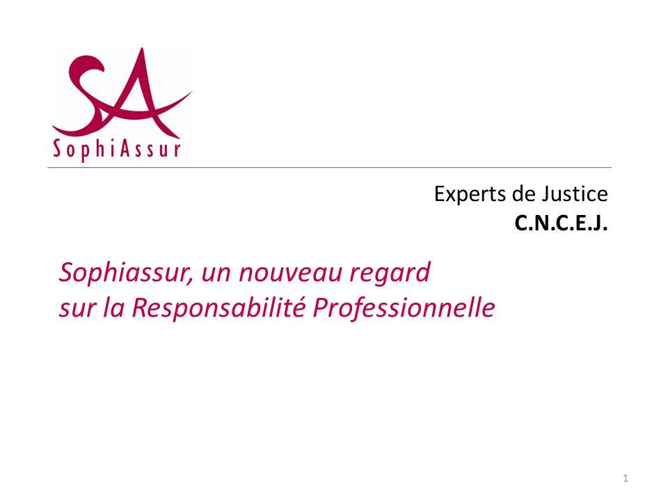 Experts de Justice C.N.C.E.J. Sophiassur, un nouveau regard sur la Responsabilité Professionnelle 1