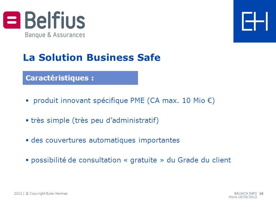 produit innovant spécifique PME (CA max.