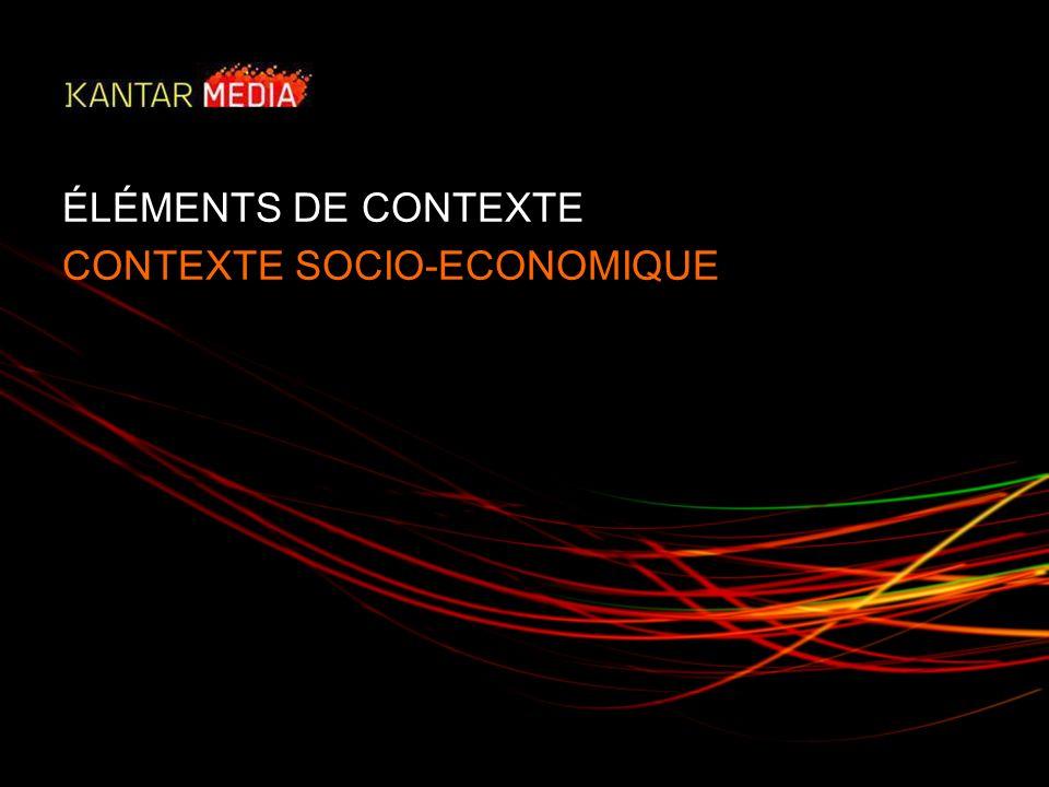 ÉLÉMENTS DE CONTEXTE CONTEXTE SOCIO-ECONOMIQUE