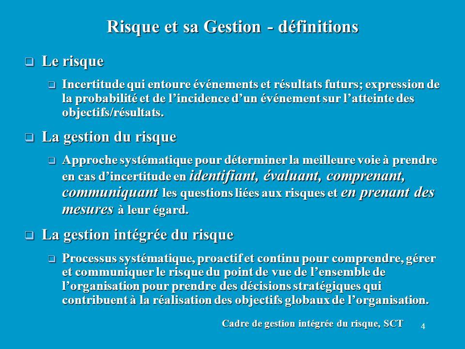 35 Manuel de la qualité: un exemple Préface Préface Section 1.