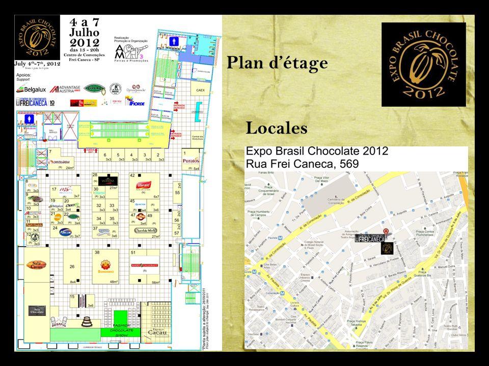 Plan détage Locales