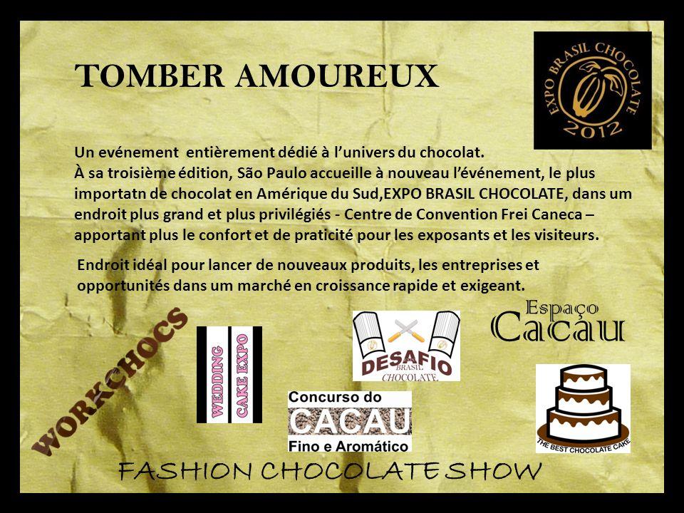 Un evénement entièrement dédié à lunivers du chocolat.