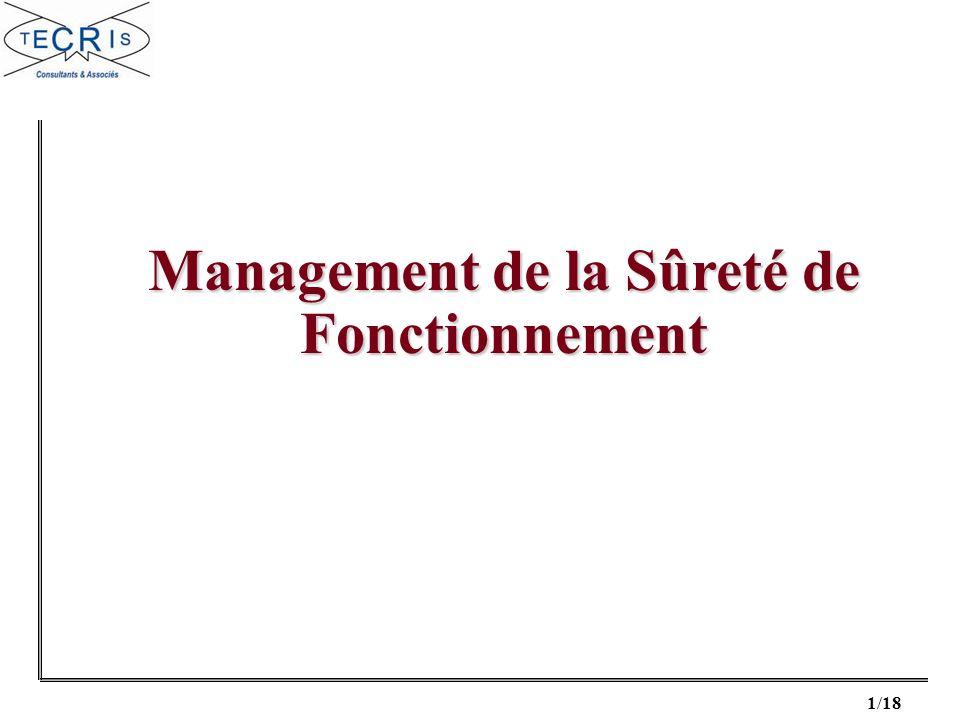 1/18 Management de la Sûreté de Fonctionnement