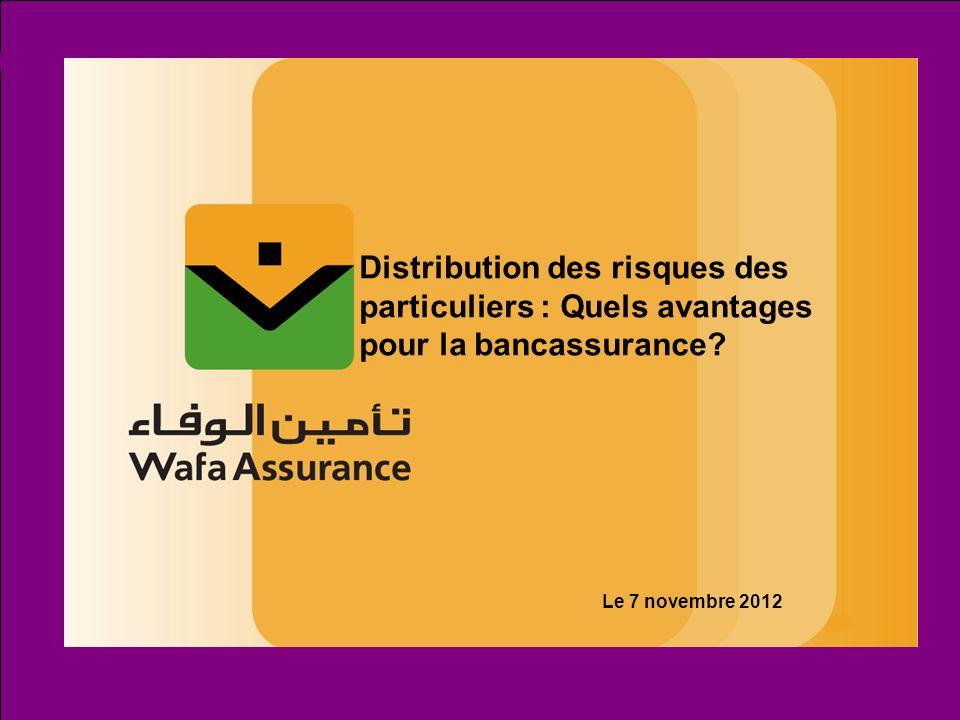 Page : 12 La Bancassurance à Wafa Assurance Le réseau de distribution Un total 2.265 agences sur un réseau bancaire national de 4.240 soit plus de la moitié 930 agences 1.000 agences 335 agences
