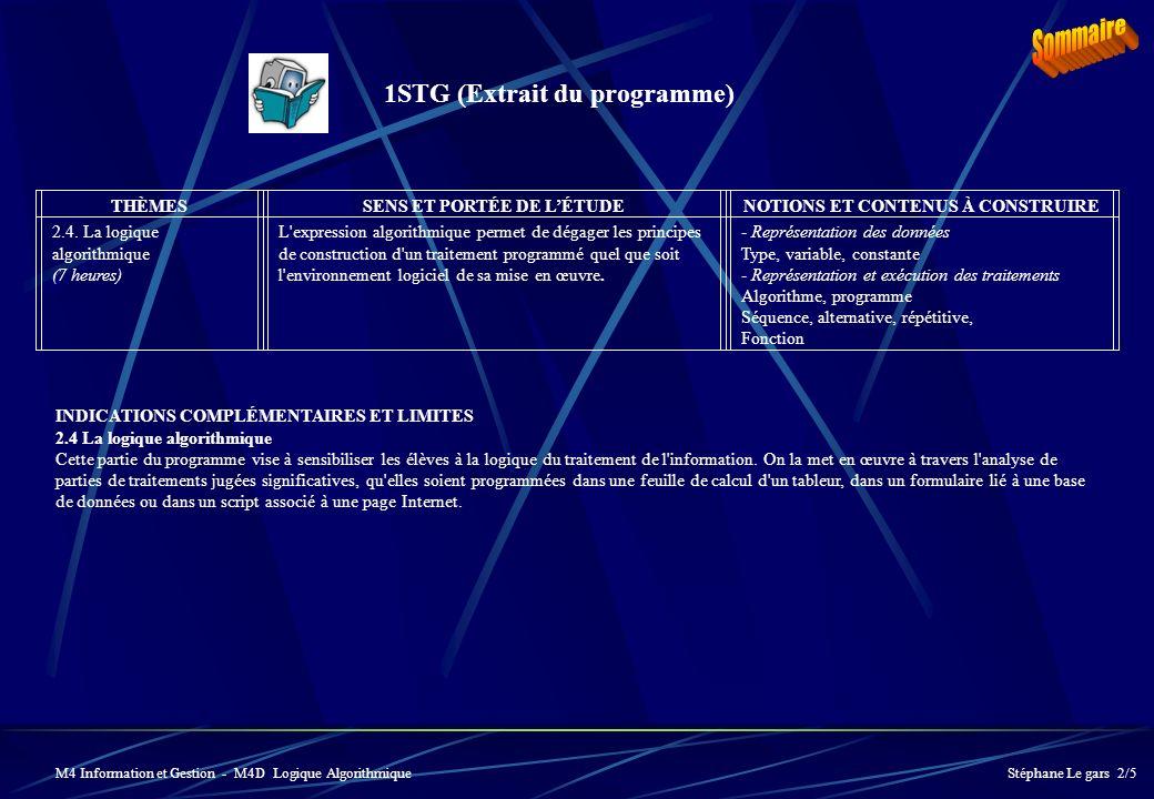 THÈMESSENS ET PORTÉE DE LÉTUDENOTIONS ET CONTENUS À CONSTRUIRE 2.4.