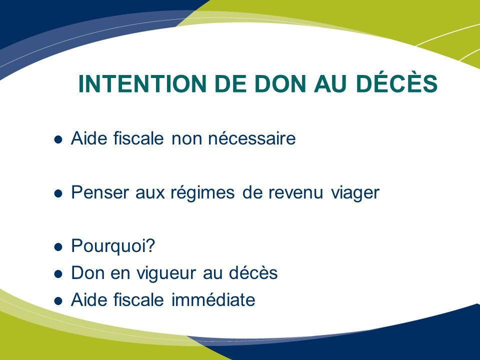 TITRES NÉGOCIABLES Avantages fiscaux Exemple M.
