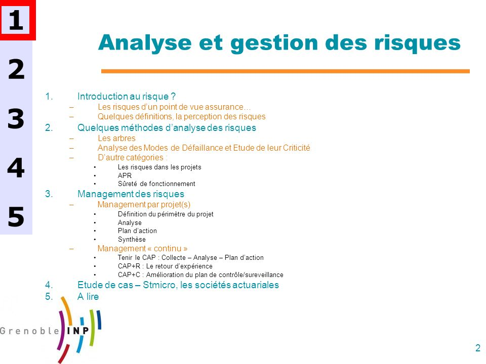83 Risques & Projets 6.