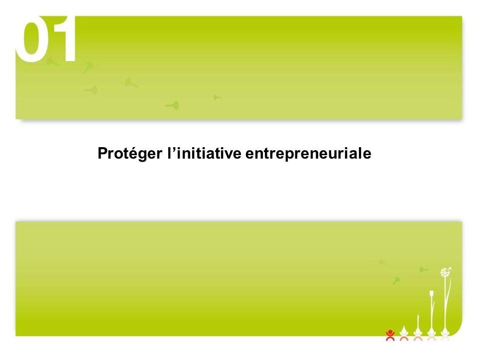 Protéger linitiative entrepreneuriale