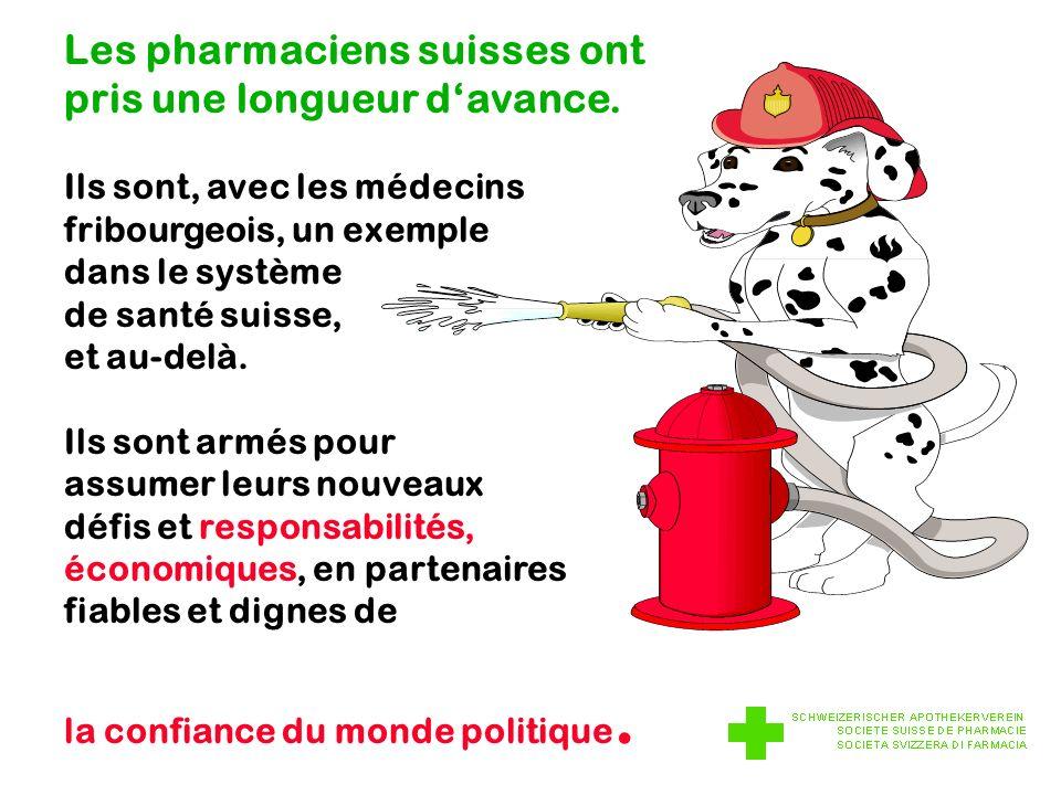 Les pharmaciens suisses ont pris une longueur davance.