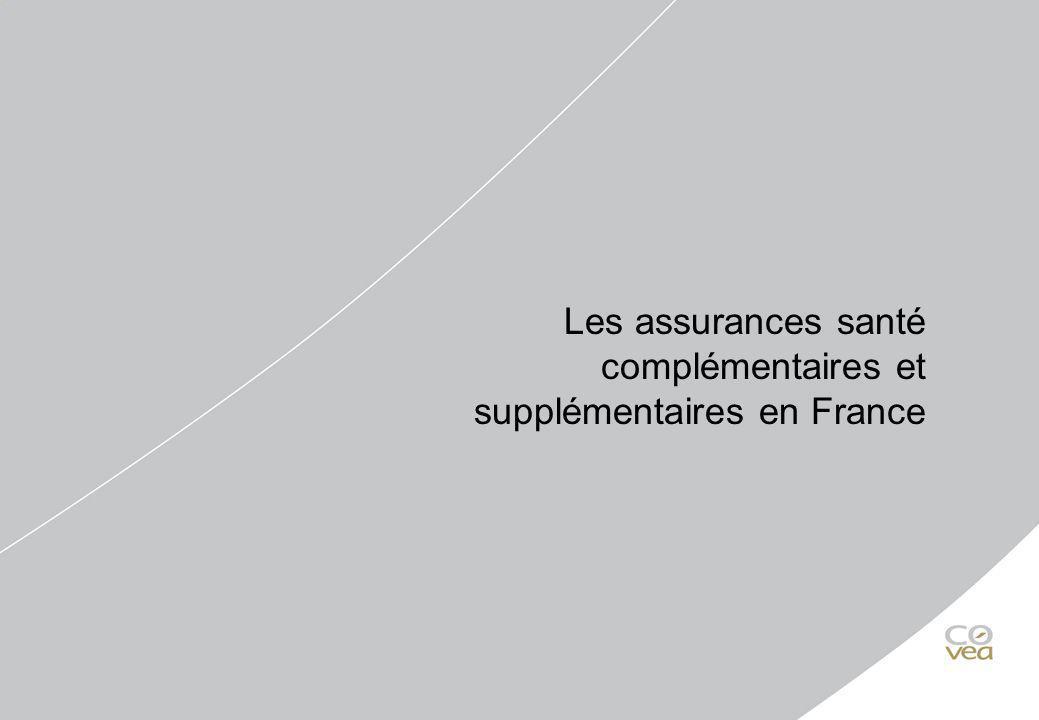 Les assurances santé complémentaires et supplémentaires en France