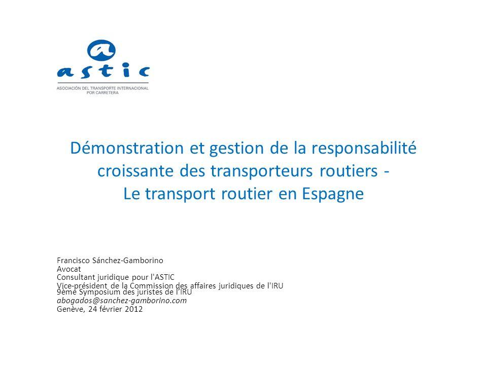 A) Les problèmes (raisons expliquant pourquoi le transporteur occupe souvent une position peu favorable dans les relations contractuelles avec ses clients) 1.