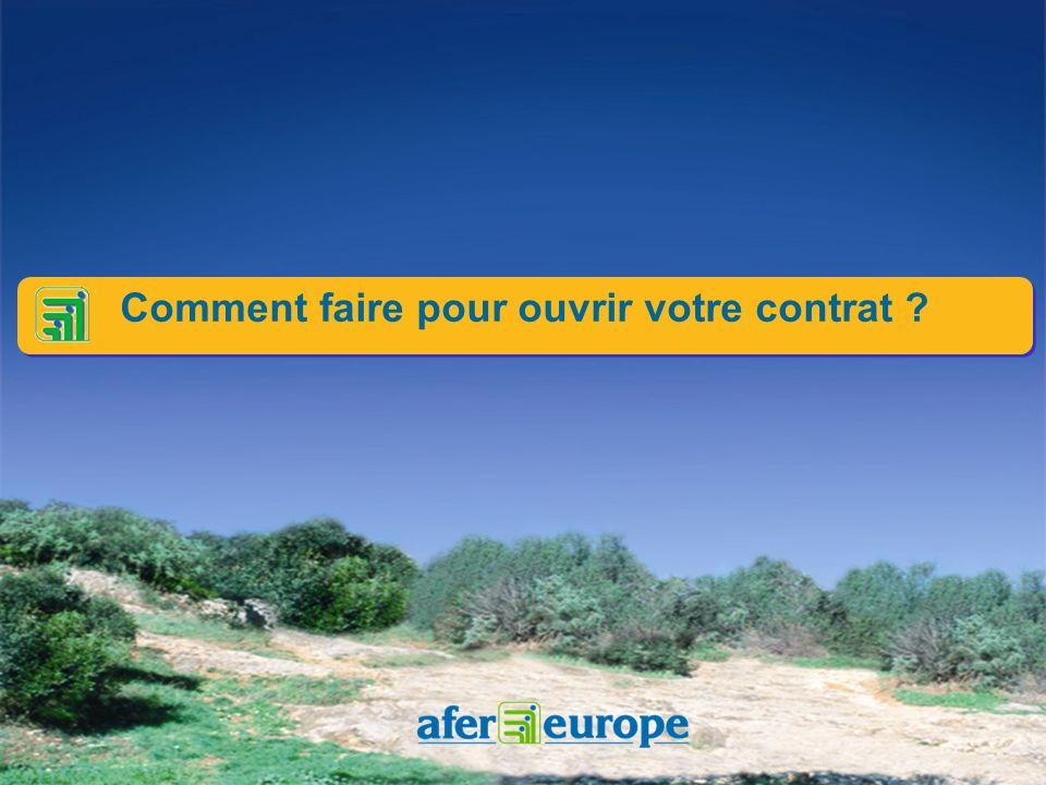 Lépargne à solutions multiples Lépargne à solutions multiples Le compte AFER EUROPE cest : La disponibilité d un carnet de dépôt Le rendement des obli