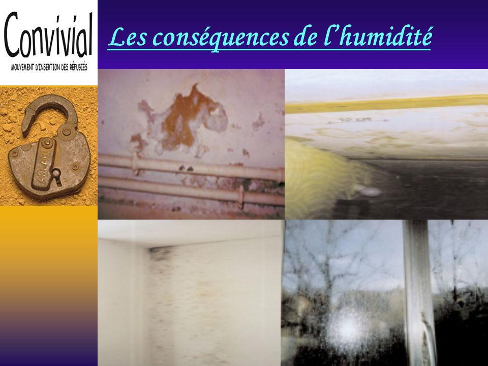 Les infiltrations deau de pluie Leau peut sinfiltrer de lextérieur soit par le toit, soit par un mur de façade défectueux.