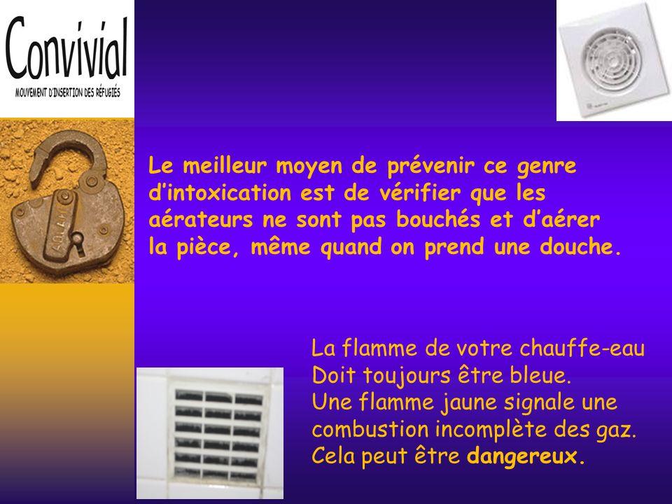 La première cause est liée à des appareils de chauffage défectueux ou mal réglés.