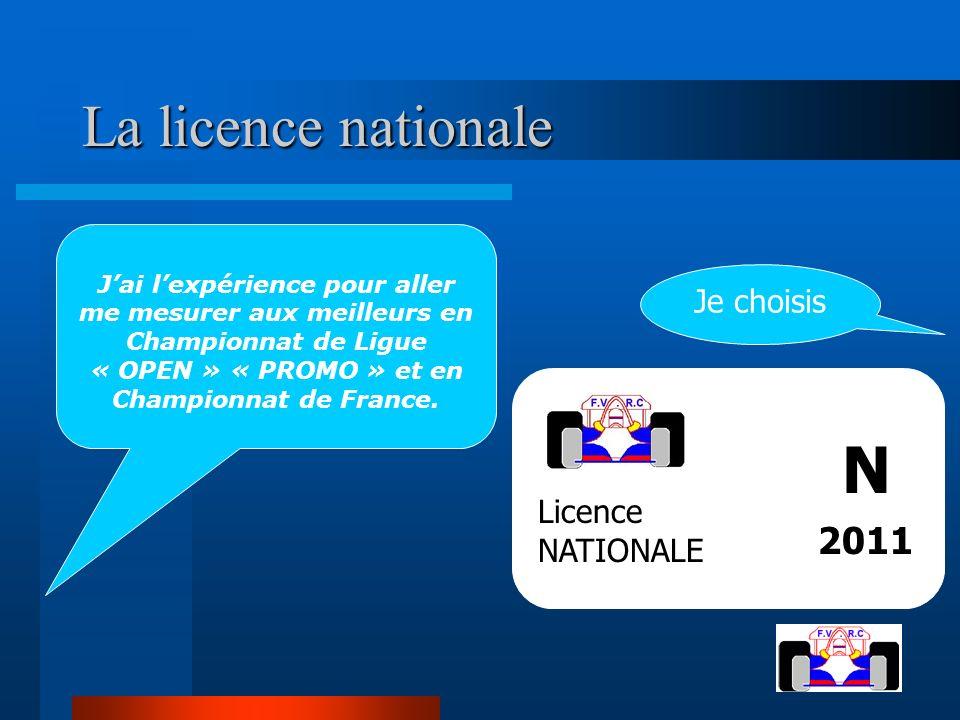 La licence nationale La licence nationale Jai lexpérience pour aller me mesurer aux meilleurs en Championnat de Ligue « OPEN » « PROMO » et en Champio