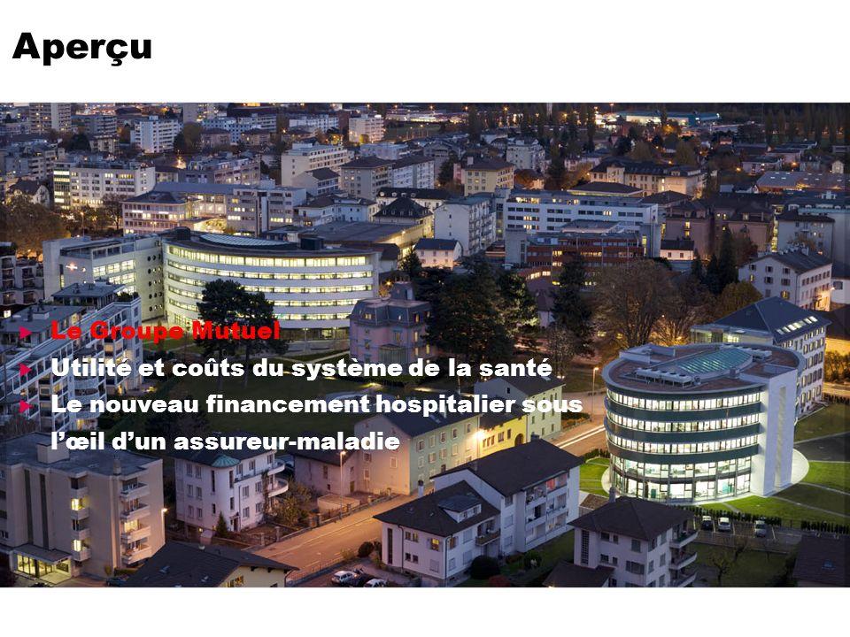 Page 2 Le Groupe Mutuel Utilité et coûts du système de la santé Le nouveau financement hospitalier sous lœil dun assureur-maladie Aperçu