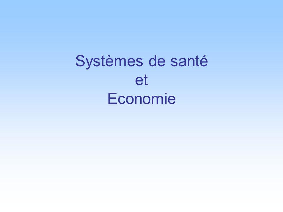 Systèmes de santé et Economie