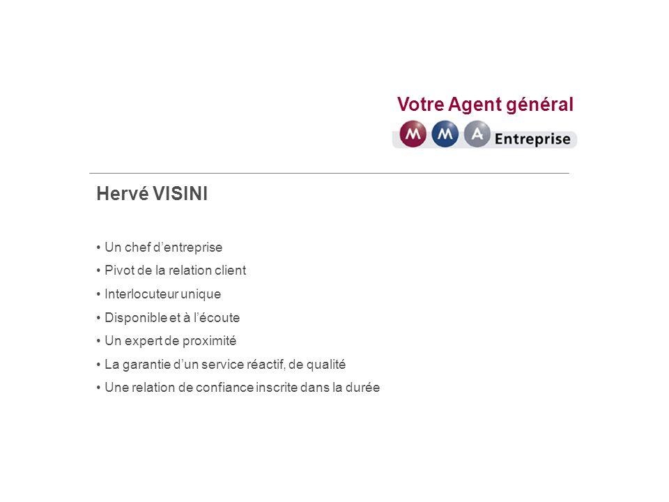 Votre Agent général Hervé VISINI Vous assurer Animé par une conception mutualiste de lassurance : un souci constant du client assuré, un haut niveau de qualité de service, la volonté de construire avec vous une relation pérenne et de confiance.