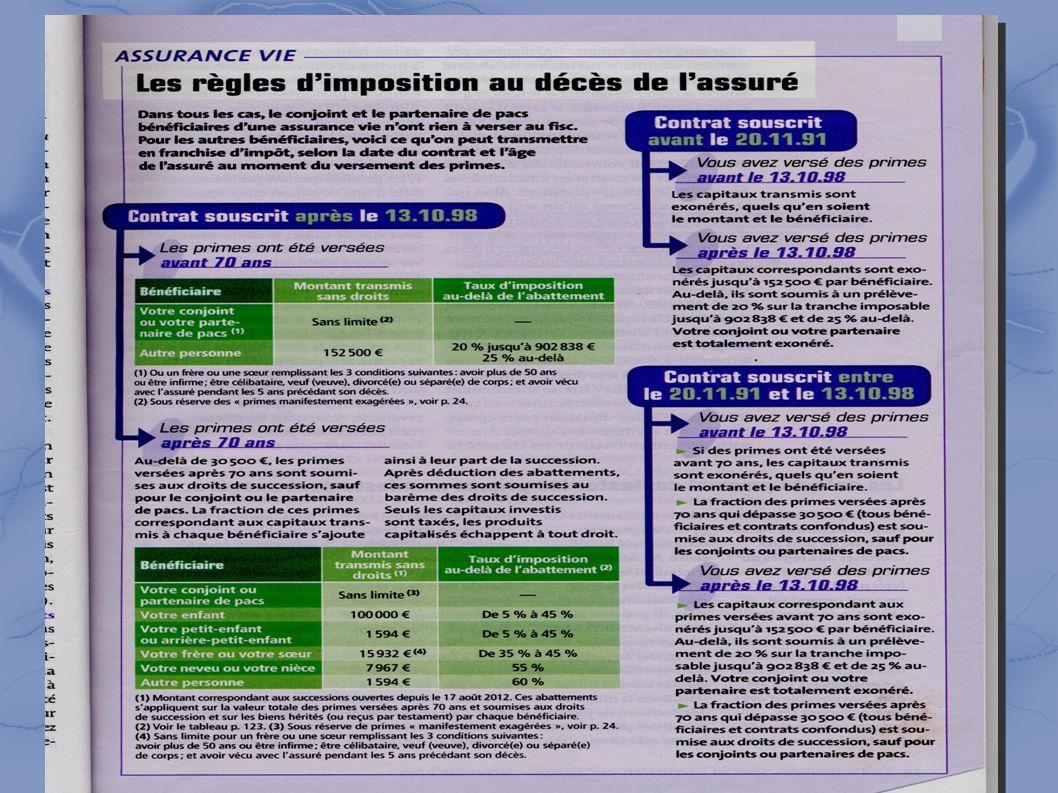 4-l'assurance-vie règles d'imposition