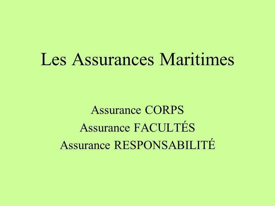 Report on Marine Insurance Premium 2002 and 2003 Tore Forsmo, Managing Director Astrid Seltmann, Analyst The Central Union of Marine Underwriters, Oslo, Norway Thanks also to Fédération Française des Sociétés dAssurances (FFSA) and the International Underwriting Association of London (IUA) IUMI 2004 Singapore Facts & Figures Committee