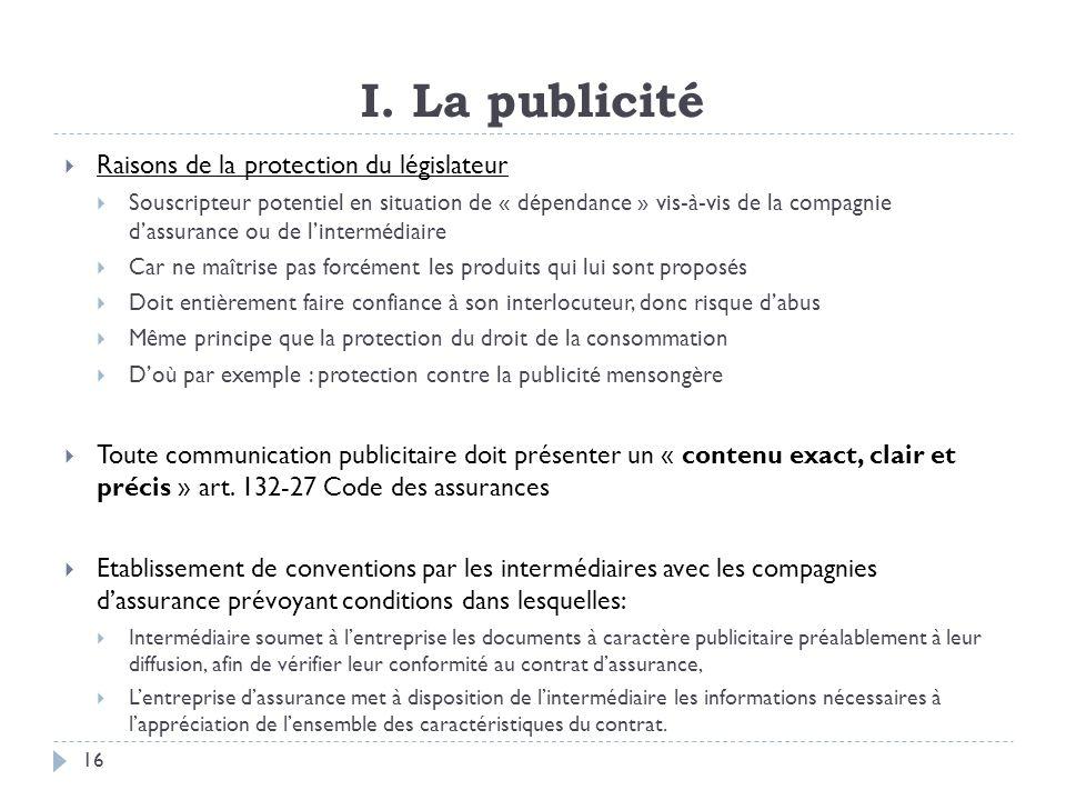 II.Les obligations des vendeurs A. Le devoir dinformation B.