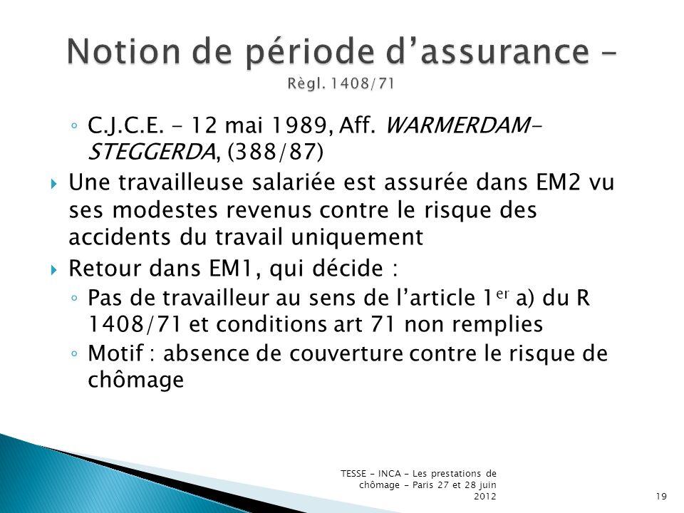 C.J.C.E. - 12 mai 1989, Aff.
