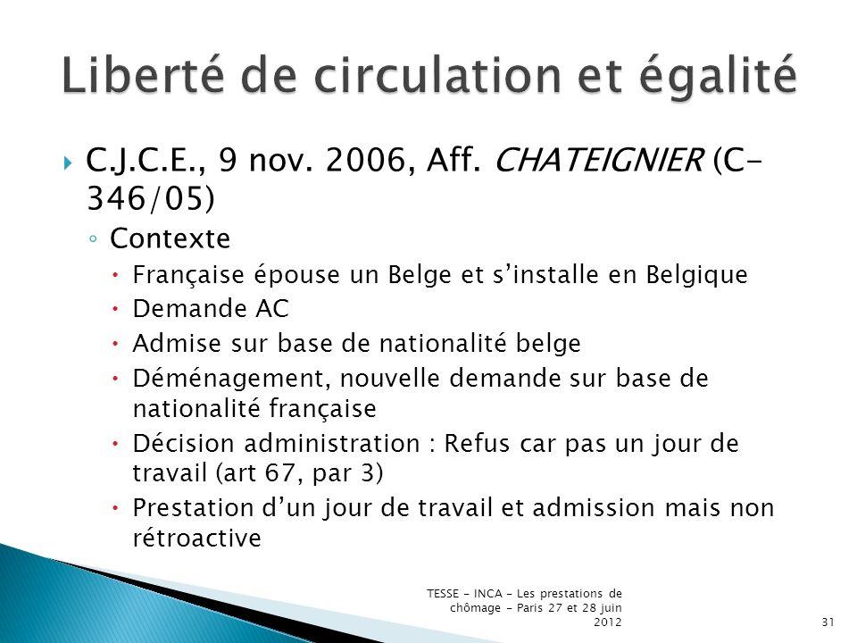 C.J.C.E., 9 nov. 2006, Aff.