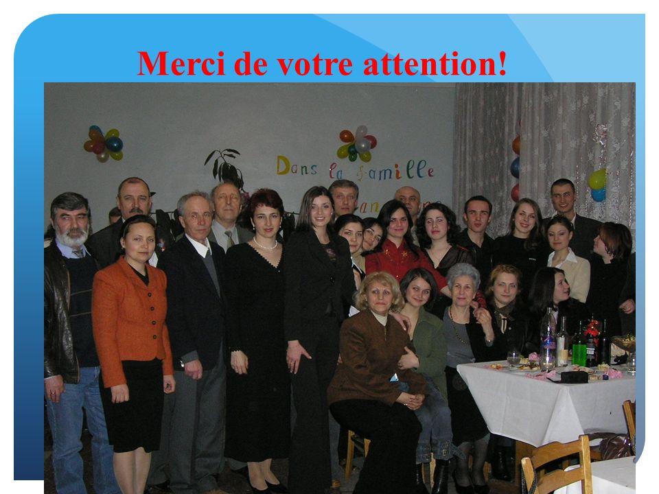 Merci de votre attention! Rodica Sturza Professeur Université Technique de Moldavie