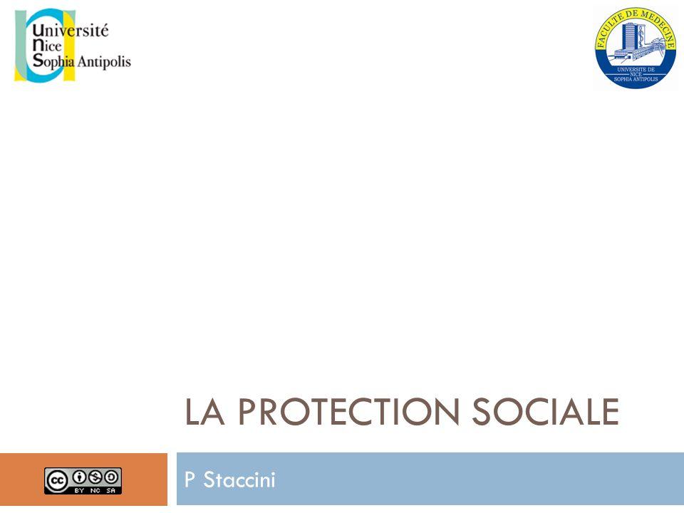 LA PROTECTION SOCIALE P Staccini