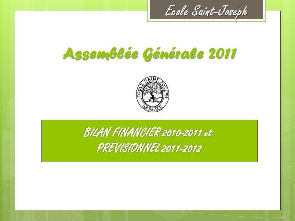 Assemblée Générale 2011 Ecole Saint-Joseph