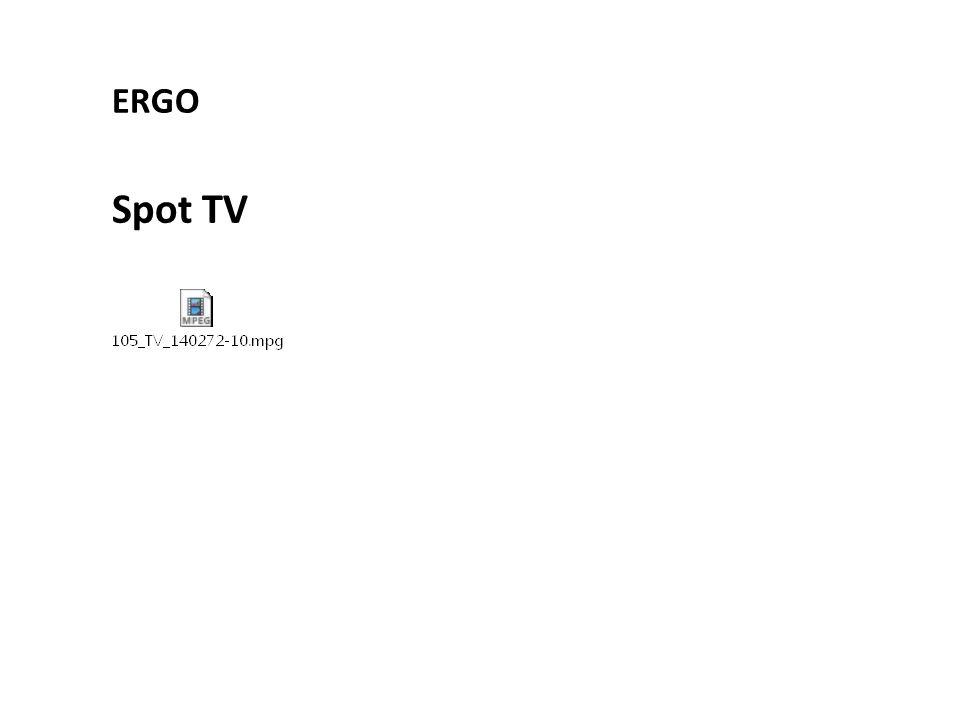 Spot TV ERGO