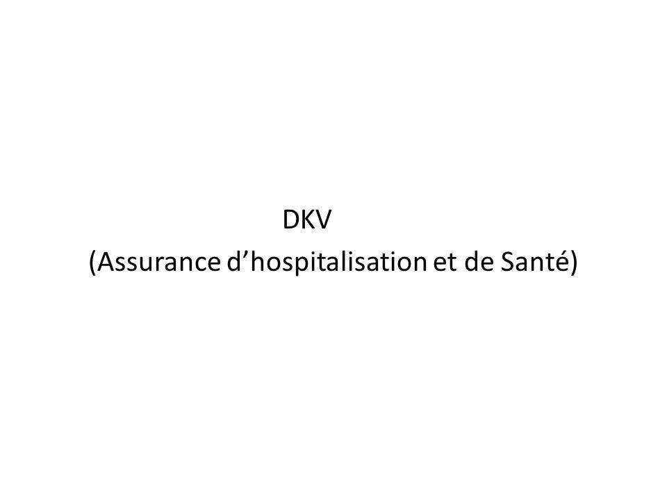 DKV (Assurance dhospitalisation et de Santé)