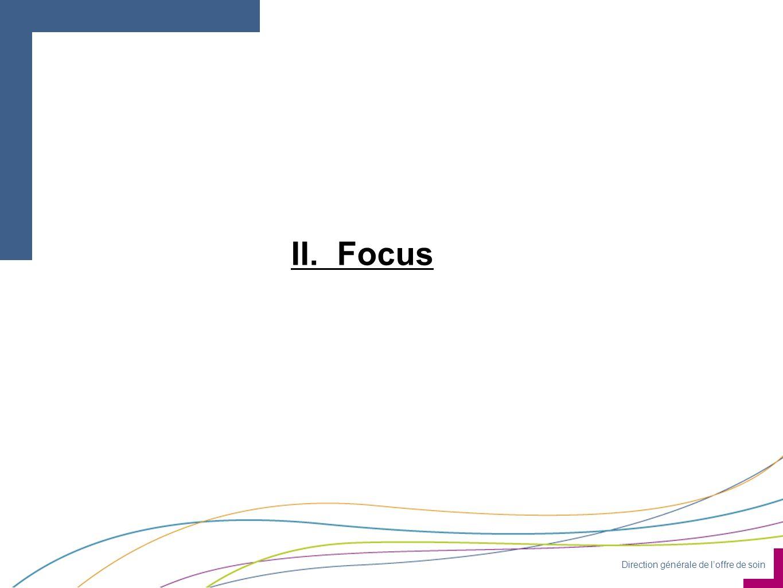 Direction générale de loffre de soin II. Focus