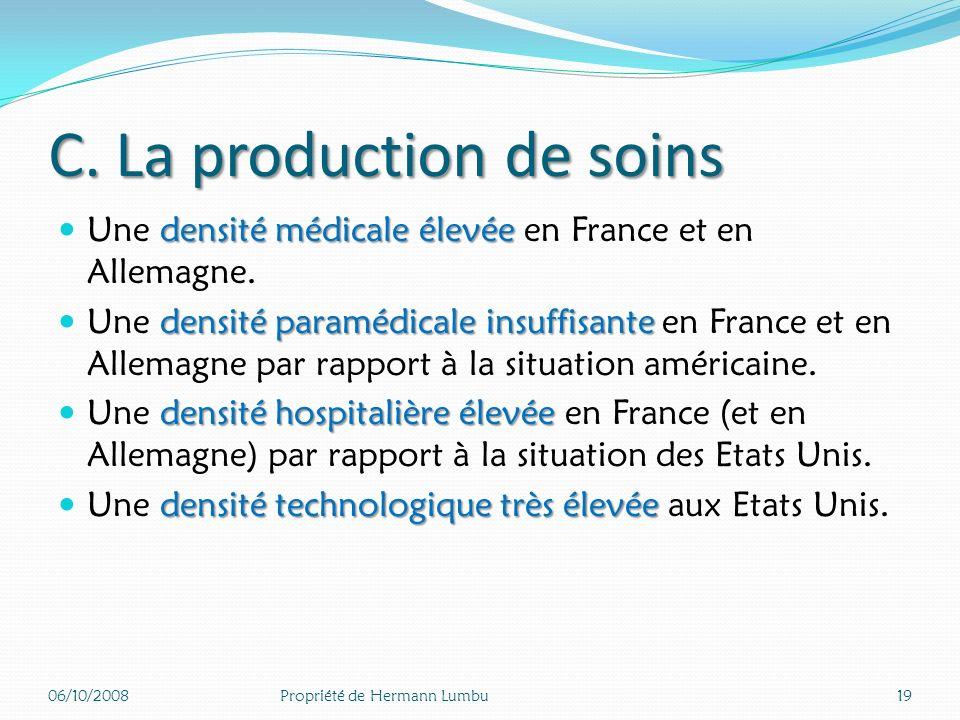 Part des dépenses publiques allouées à la prévention en santé publique (2005) 06/10/200818Propriété de Hermann Lumbu