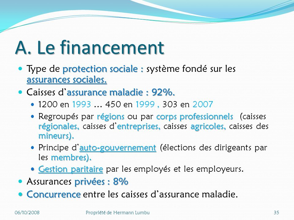 Introduction : contexte historique 1883 : système Bismarckien : 1883 : système Bismarckien : qui travaille est assuré. Réunification transition(réform
