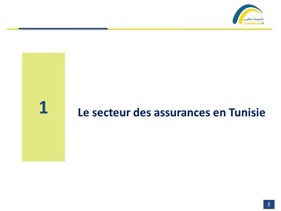 2 2 1 Le secteur des assurances en Tunisie