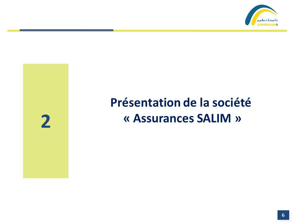 6 6 2 Présentation de la société « Assurances SALIM »