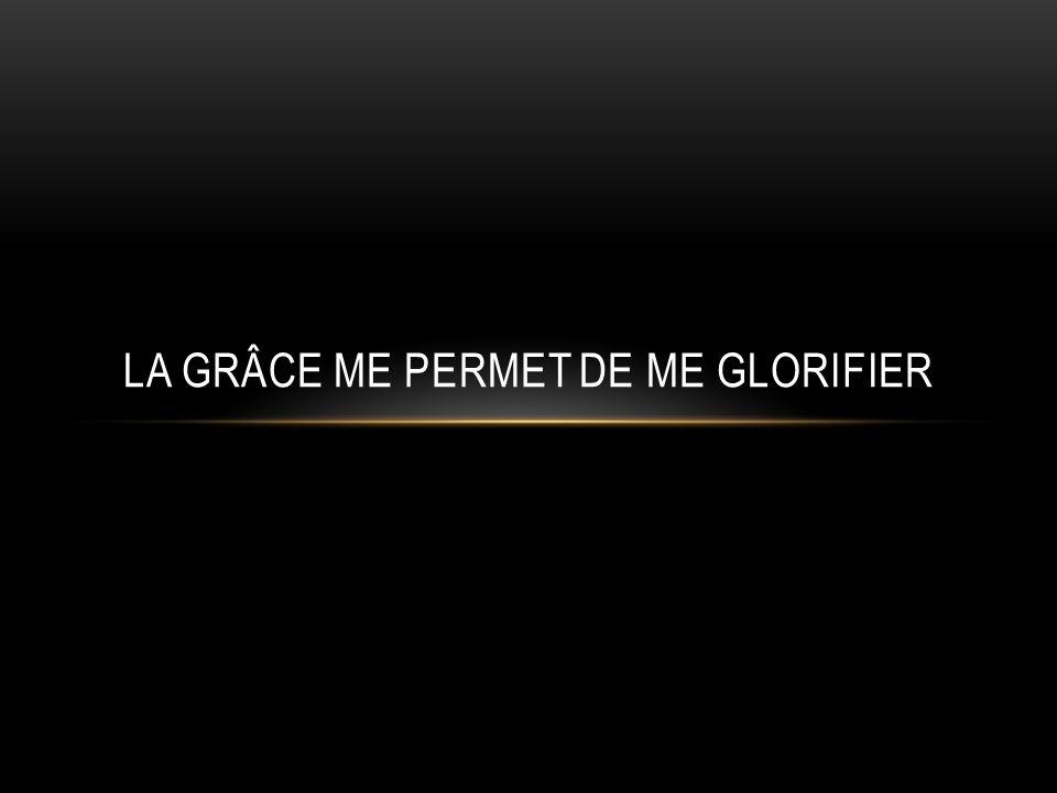 « Cet homme na pas considéré Dieu et a vécu pour laccomplissement de ses propres désirs » LA GRÂCE DE DIEU ME REND RESPONSABLE