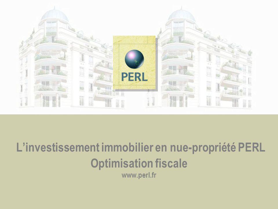 Linvestissement immobilier en nue-propriété PERL Optimisation fiscale www.perl.fr