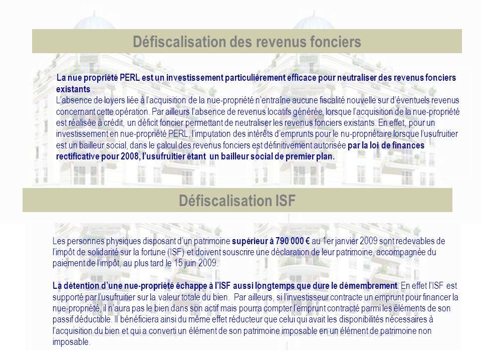 Les personnes physiques disposant dun patrimoine supérieur à 790 000 au 1er janvier 2009 sont redevables de limpôt de solidarité sur la fortune (ISF)