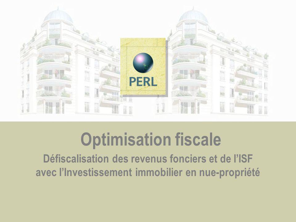 Optimisation fiscale Défiscalisation des revenus fonciers et de lISF avec lInvestissement immobilier en nue-propriété