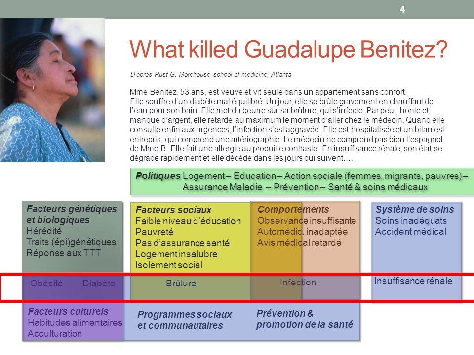 What killed Guadalupe Benitez.