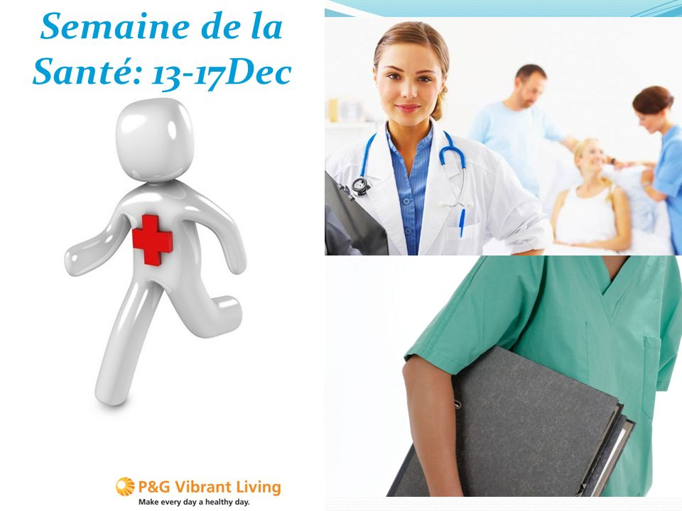 La semaine de la santé sinscrit dans le cadre du programme Vibrant Living 10/11