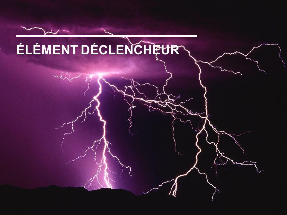 ÉLÉMENT DÉCLENCHEUR