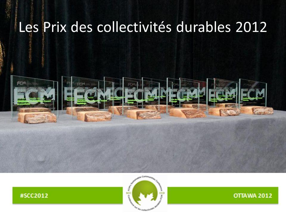 Les Prix des collectivités durables 2012