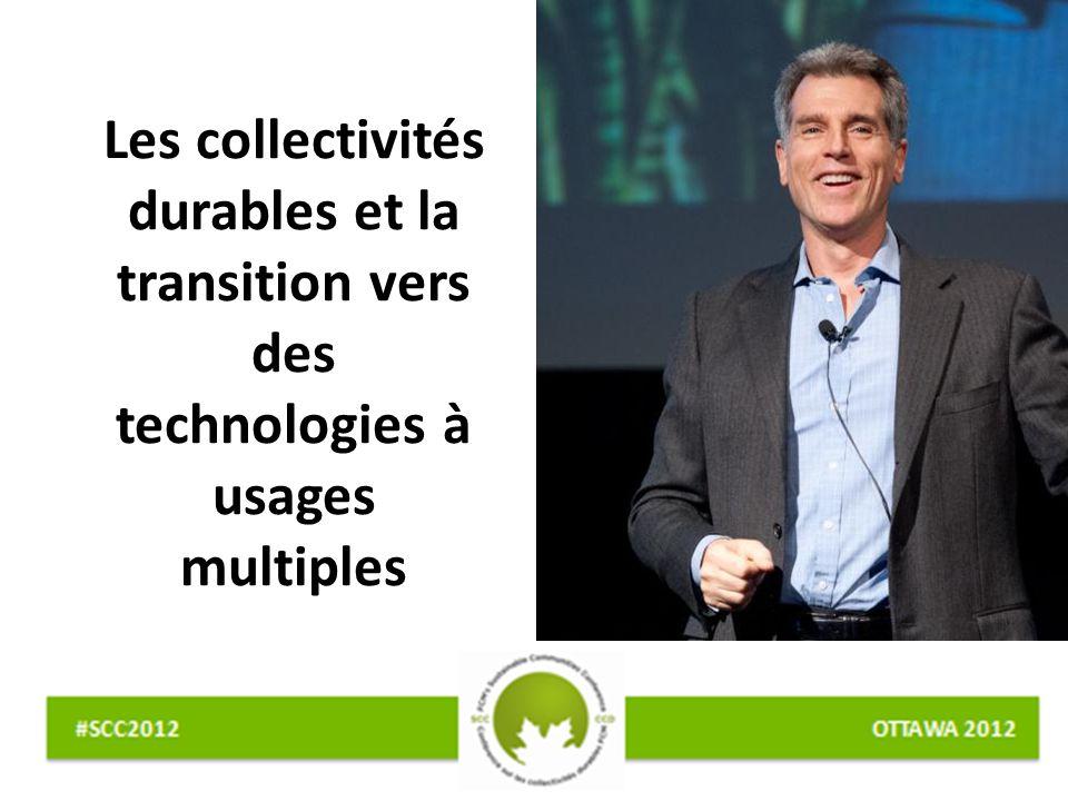 Les collectivités durables et la transition vers des technologies à usages multiples