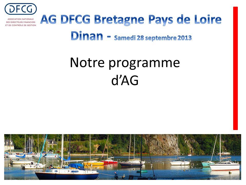 Notre programme dAG