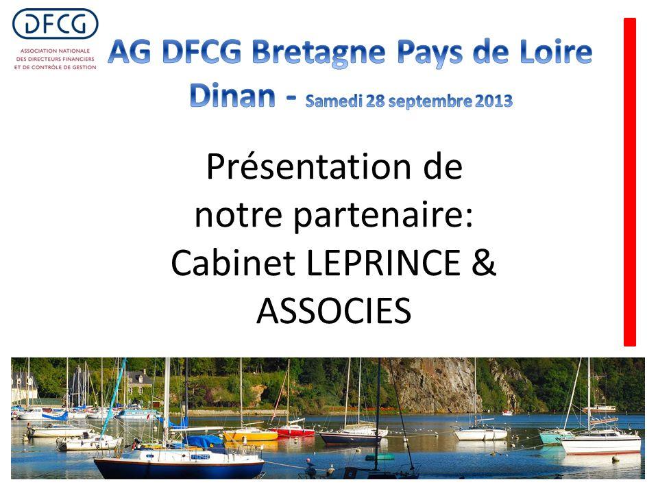 Présentation de notre partenaire: Cabinet LEPRINCE & ASSOCIES